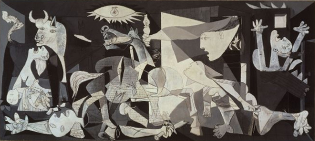 Guernica by Pablo Picasso. 1937. Oil on canvas