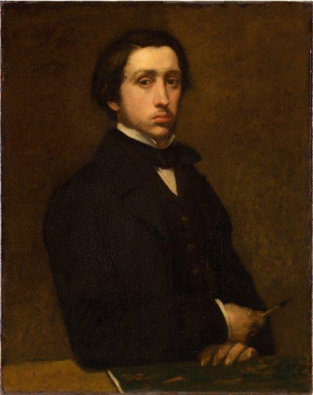 Self-portrait by the artist, Edgar Degas